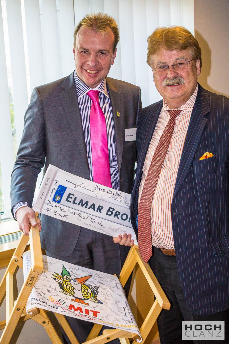 Ulin Lange mit Elmar Brock